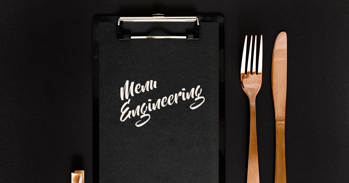Menu Engineering: Real-time insights enable menu optimization