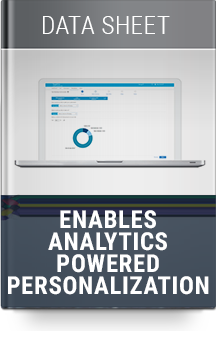 Enables Analytics Powered Personalization
