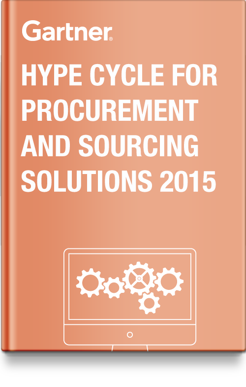 Gartner Hype Cycle for Procurement and Sourcing Solutions, 2015