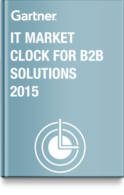 IT Market Clock for B2B Solutions, 2015